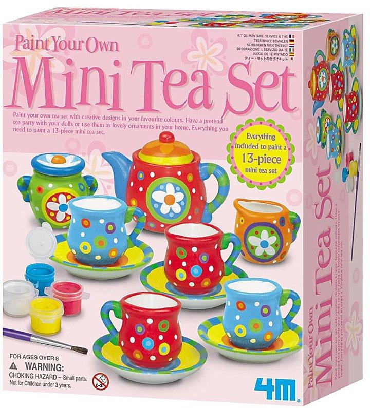 Toysmith 4M Paint Your Own Mini Tea Set