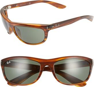 Ray-Ban 62mm Wraparound Sunglasses