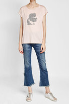 Karl Lagerfeld Embellished T-Shirt with Cotton