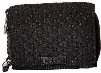 Vera Bradley Iconic RFID Card Case (Classic Black) Wallet