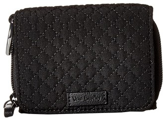 Vera Bradley RFID Card Case (Classic Black) Wallet