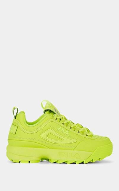 Fila Women's Disruptor 2 Leather Sneakers - Yellow