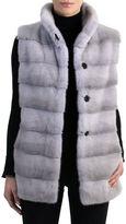 Gorski Mink Fur Vest with Quilted Back