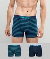 Levis Trunks 2 Pack In Vintage Stripe