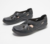 Clarks Collection Leather Slip-Ons - Ashland Rosa