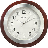 Bulova Wooden Wall Clock C4228