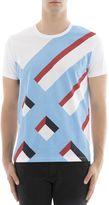 Burberry Multicolor Cotton T-shirt