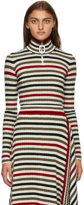 J.W.Anderson Multicolor Pulled Fitted Turtleneck