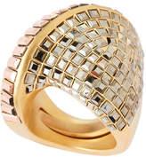 Swarovski Gold-Tone Film Ring