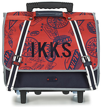 Ikks URBAN RALLYE CARTABLE TROLLEY 38CM boys's Rucksack in Red