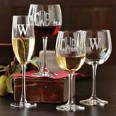 Williams-Sonoma Williams Sonoma Monogrammed Champagne Flutes, Set of 4