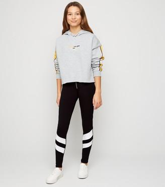 New Look Girls Double Stripe Ring Pull Leggings