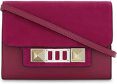 Proenza Schouler PS11 leather and suede wallet-on-chain