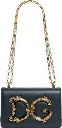 Dolce & Gabbana Leather Girls Shoulder Bag