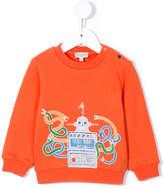 Paul Smith tickle robot print sweatshirt