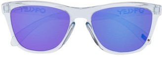 Oakley Transparent Square Frame Sunglasses
