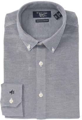 Original Penguin Heritage Slim Fit Solid Dress Shirt