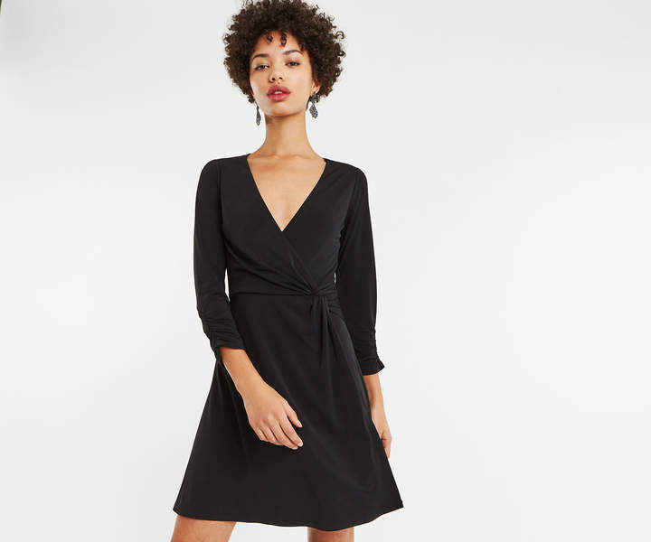 73cb693559e8 Oasis Wrap Dress - ShopStyle UK