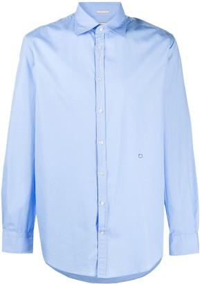 Massimo Alba Spread Collar Long-Sleeve Shirt