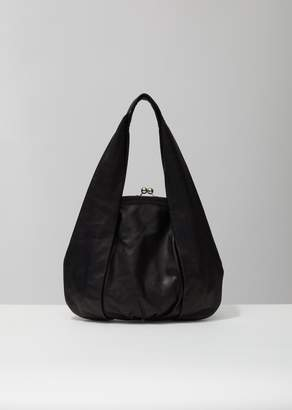 Y's Large Clasp Top Handbag