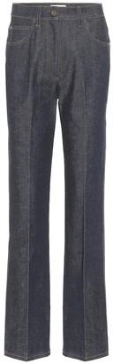 Fendi High-rise straight jeans