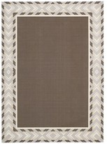 Waverly Sun N' Shade Full Of Zip Espresso Area Rug by Nourison (7'9 x 10'10)