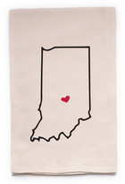 "ellembee Home ""Indiana State"" Tea Towel"
