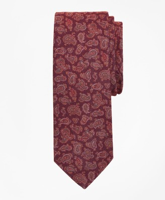 Brooks Brothers Velvet Pine Print Tie