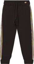 Relish Black Lightweight Track Pants with Glitter Trim