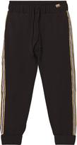Relish Black Lightweight Track Pants with Glitter Trim