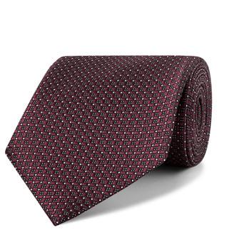 Ermenegildo Zegna 7.5cm Silk-Jacquard Tie