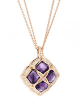 Chopard Imperiale Amethyst Pendant Necklace with Diamonds