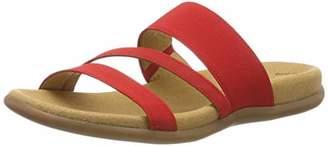 Gabor Shoes Women's Jollys Mules, Red (Flame 85), (42 EU)