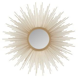 Madison Home USA Fiore Gold Sunburst Mirror - Large