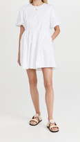 Thumbnail for your product : ENGLISH FACTORY Short Balloon Sleeve Mini Dress
