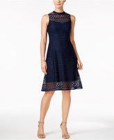 Jessica Simpson Lace Back-Cutout Dress