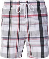 Moncler checked swim shorts