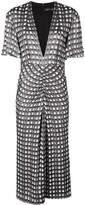 Proenza Schouler Jacquard Short Sleeve Dress