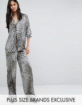 Y.A.S Tall Steph Leo Printed Pajama Style Pant