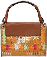 Etro Embroidered & Sequined Leather Bag