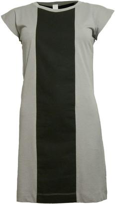 Format PLUM Grey & Black Single Plain Dress - XS - Grey/Black