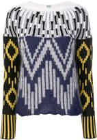 Kenzo multi-graphic knit sweater