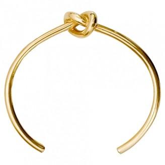 Celine Knot Gold Metal Bracelets