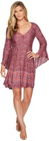 Stetson 1116 Rayon Floral Border Print Dress Women's Dress