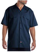Dickies Men's Short Sleeve Work Shirt Tall