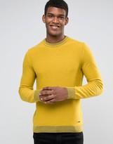 BOSS ORANGE by Hugo Boss Almindo Crew Sweater Tonal Trim