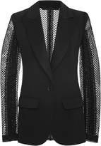 Elie Saab Macramé Sleeve Tuxedo Jacket