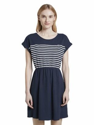 Tom Tailor Women's Mini Streifen Dress
