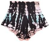 Vintage Havana Girls' Tie Dye Ruffle Shorts - Big Kid