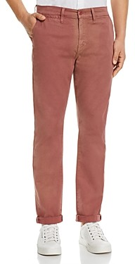 7 For All Mankind Paxtyn Skinny Fit Jeans in Dusty Red